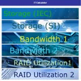 Bandwidth RAID Array Calculator