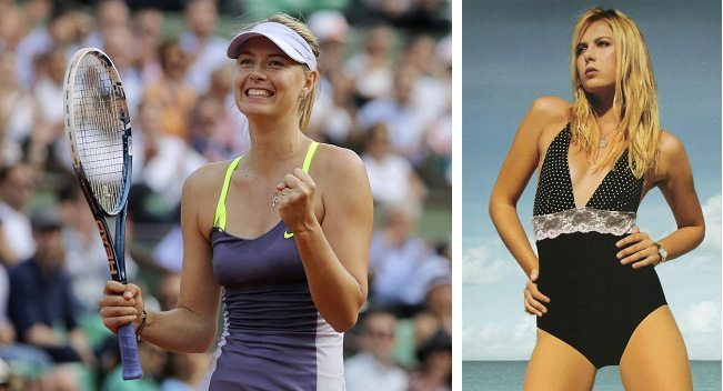 1. Maria Sharapova (Tennis)