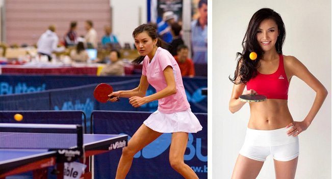 10. Soo Yeon Lee (Table Tennis)