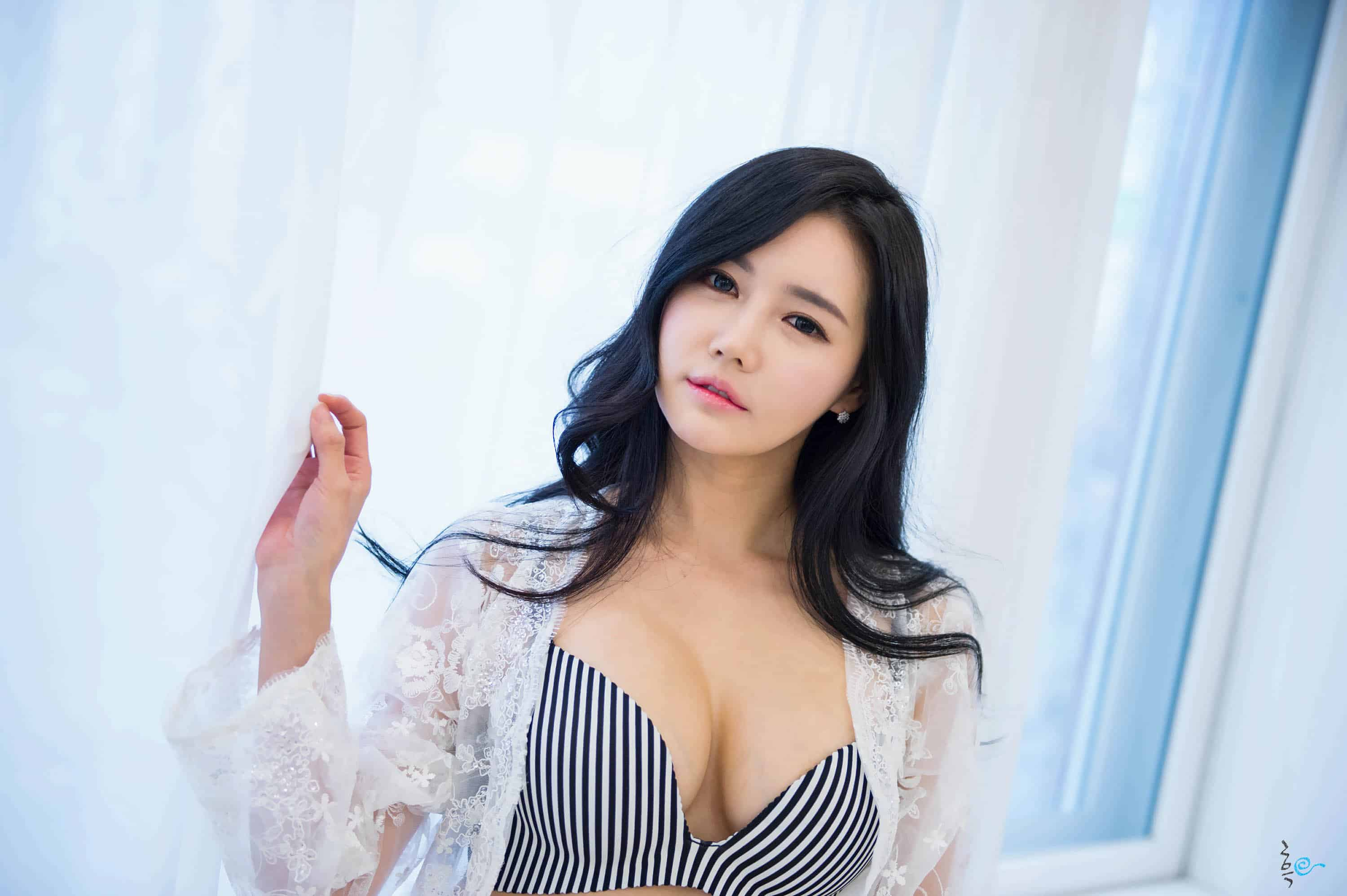 Was and sexy young korean girls with you