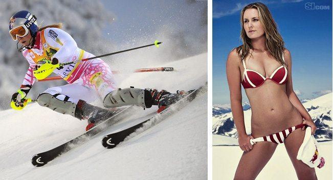 6. Lindsey Vonn (Skiing)