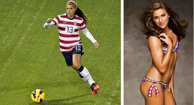 7. Alex Morgan (Soccer)