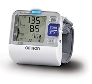 1. Omron 7 Series Wrist Blood Pressure Monitor