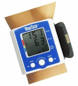 5. N American Healthcare Wristech Blood Pressure