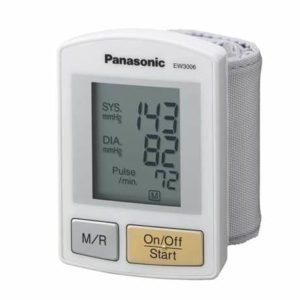 9. Panasonic EW3006S Wrist Blood Pressure Monitor