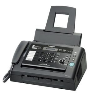 1. Panasonic Advanced Fax Communications with Laser Print Quality