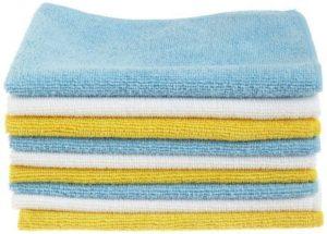 1. The AmazonBasics Microfiber Cleaning Cloth