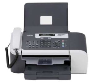 2. Brother FAX-1860c Color Inkjet Fax