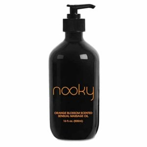 3. Nooky Orange Blossom Massage Oil