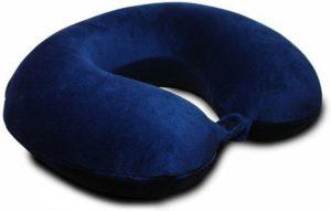 3. The KohbiTM Travel Bliss Memory Foam Pillow