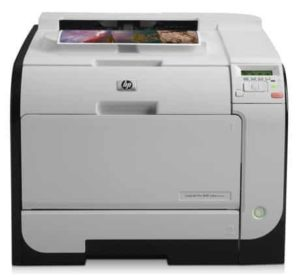4. HP 400 M451nw LaserJet Pro 400 Color Printer