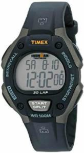 4. Timex Mens T5E901 Ironman Watch with Black Resin Band