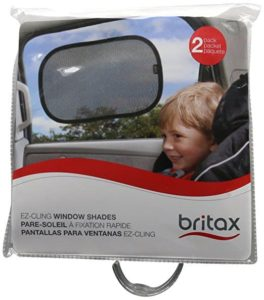 5. Britax EZ-Cling Sun Shades, Black, 2-Count