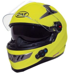6. BILT Techno Bluetooth Full-Face Motorcycle Helmet