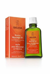 6. Weleda Arnica Massage Oil