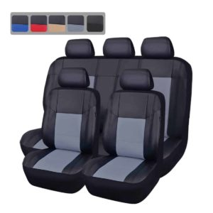 Car Pass Universal Pu Leather Seat Cover Set