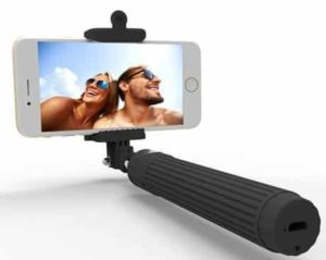 7. Kiwii - Extendable Wireless Bluetooth Selfie Stick with built-in Bluetooth