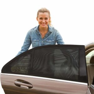 7. Shade Sox Universal Fit Baby Car Side Window Sun Shade Pack of 2