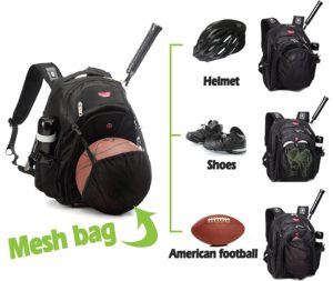 8. Bagland Basketball Backpack