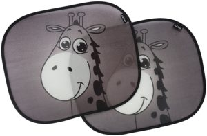 8. Car Sun Shades with Premium Giraffe Design