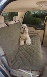 8. The Deluxe Pet Car Seat Cover