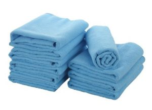 8. The E-home microfiber cleaning cloths