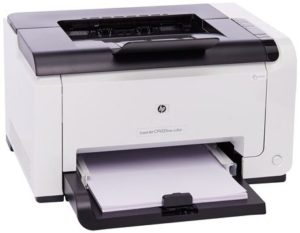 9. HP LaserJet Pro CP1025nw Color Printer