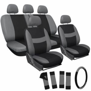 9. The OxGord Flat Cloth Seat Cover