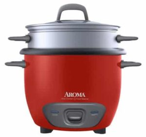 1. Aroma Rice Cooker - 6 Cup Capacity