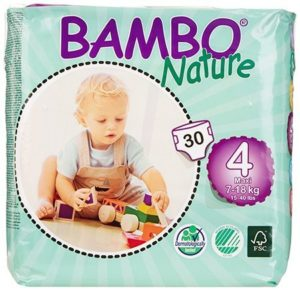 1. Bambo Nature Premium Baby Diapers