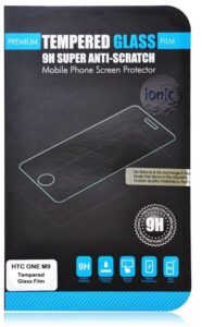 1. Ionic Pro HTC One M9 Tempered Glass Screen Protector