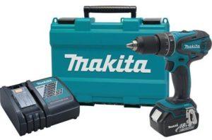 1. Makita XPH012 Cordless Hammer DriverDrill Kit