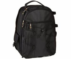 10. AmazonBasics Backpack for SLR DSLR Cameras