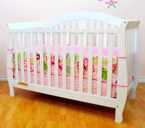 10. Athena AFG Desiree 4-in-1 Convertible Crib