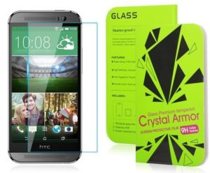 10. Crystal Armor HTC One M9 Screen Protector Crystal Clear