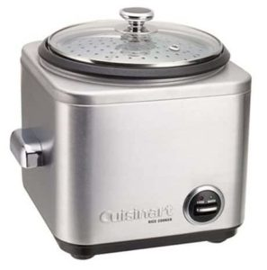 10. Cuisinart CRC-400 4-Cup Rice Cooker
