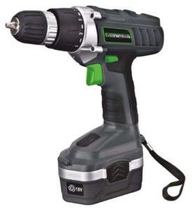 10. Genesis GCD18BK Cordless Drill Kit