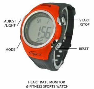 10. HeartQ Heart Rate Monitor (HRM) & Sports Watch