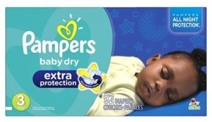 10. Pampers Baby Dry Extra Protection Diapers