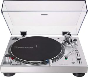 2. Audio-Technica AT-LP120XUSB-SV Direct-Drive Turntable