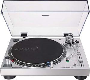 2. Audio-Technica AT-LP120XUSB-SV Direct-Drive Turntable