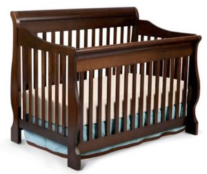 2. Delta Children Canton 4-in-1 Convertible Crib