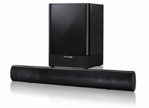 2. Harman Kardon SB16 Soundbar and Wireless 100 Watt Subwoofer