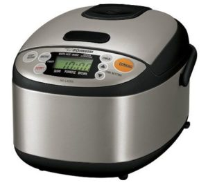 2. Zojirushi NS-LAC05XT Rice Cooker