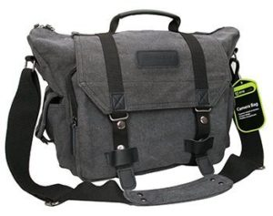 3. Evecase Large Camera Bag