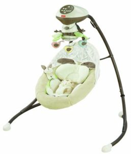 3. Fisher-Price Snugabunny Cradle 'N Swing
