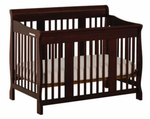3. Stork Craft Tuscany 4-in-1 Convertible Crib