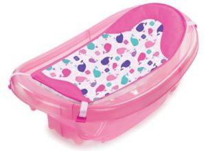 3. Summer Infant Sparkle N' Splash Newborn To Toddler Bath Tub
