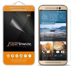 3. upershieldz- HTC One M9 Tempered Glass Screen Protector