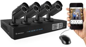 4. Amcrest 720P HD Over Analog (HDCVI) 4CH Video Security System